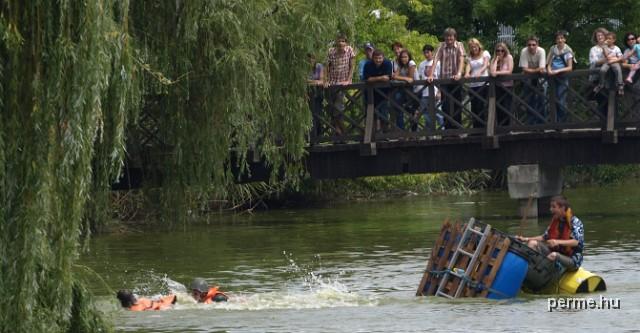 Úszó alkalmatlanságok Nyíregyháza Sóstó