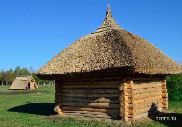 Árpádkori falu - Sóstói Múzeumfalu